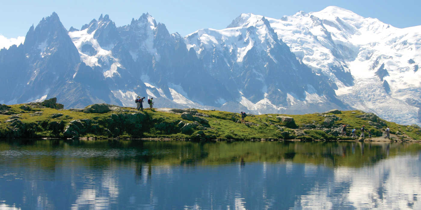MT Sobek's Tour du Mont Blanc has been hailed as the world's most luxurious hiking trip © Anne Wood/MT Sobek