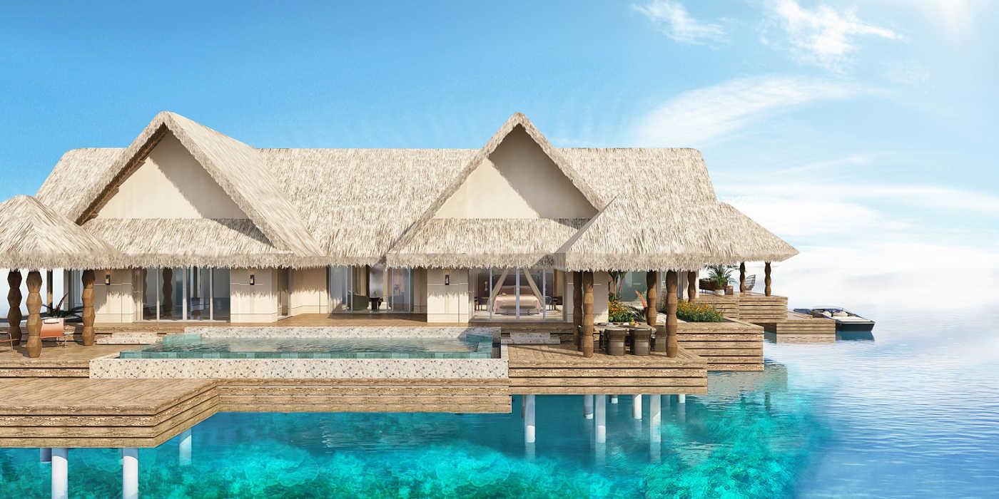 Joali Maldives' overwater villa