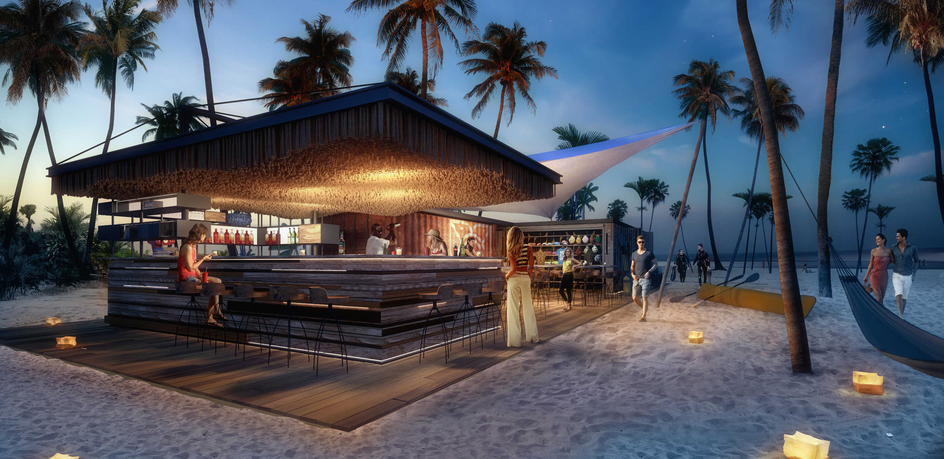 Zuri beach bar