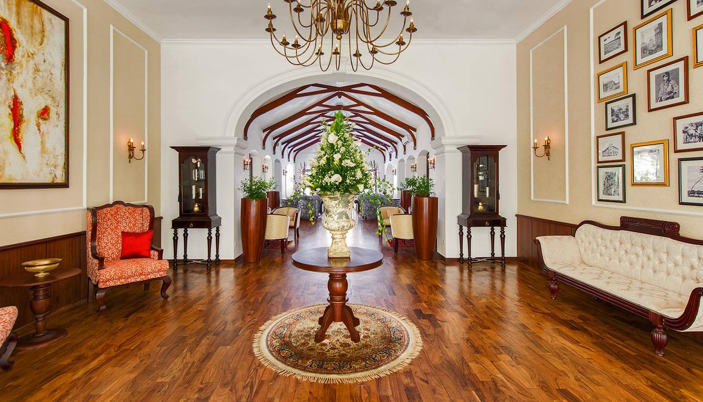 Lobby at Residence by Uga Escsape