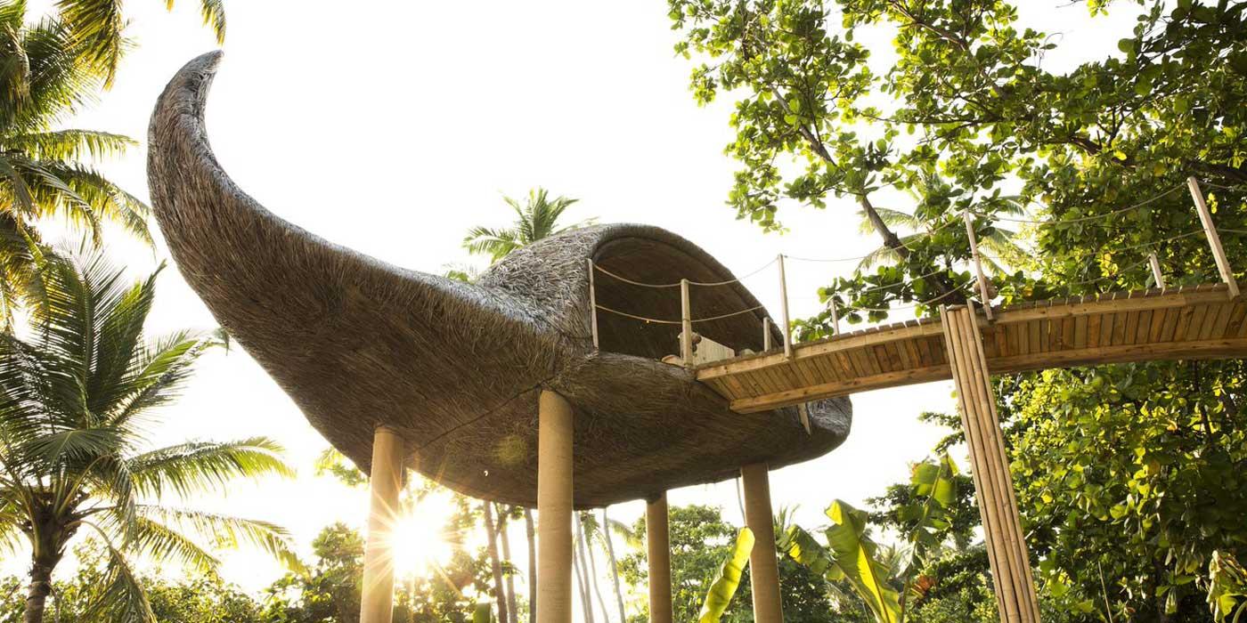 The Manta Tree House by Porky Hefer