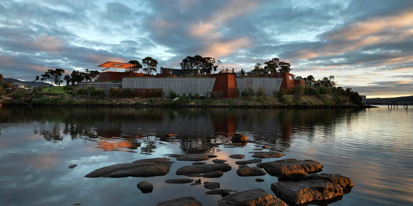 The Museum of Old and New Art in Hobart