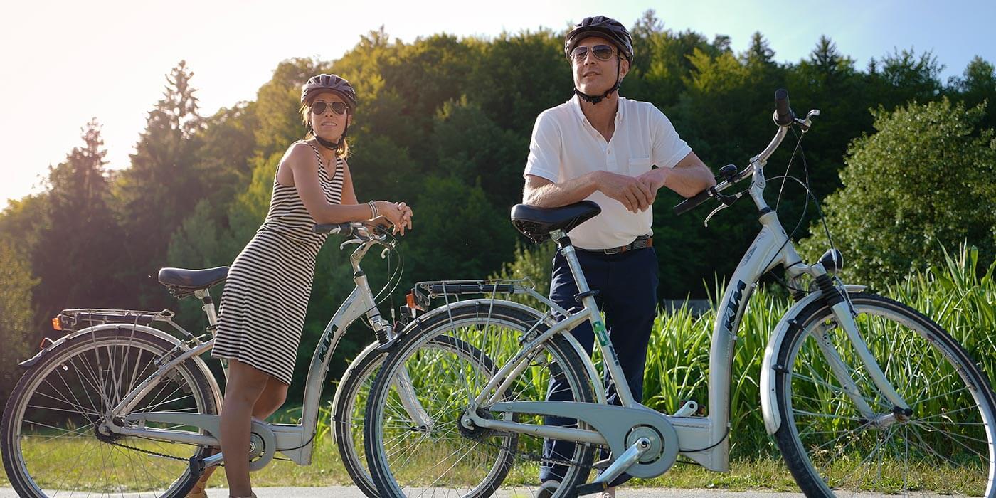 Avalon active discovery, biking