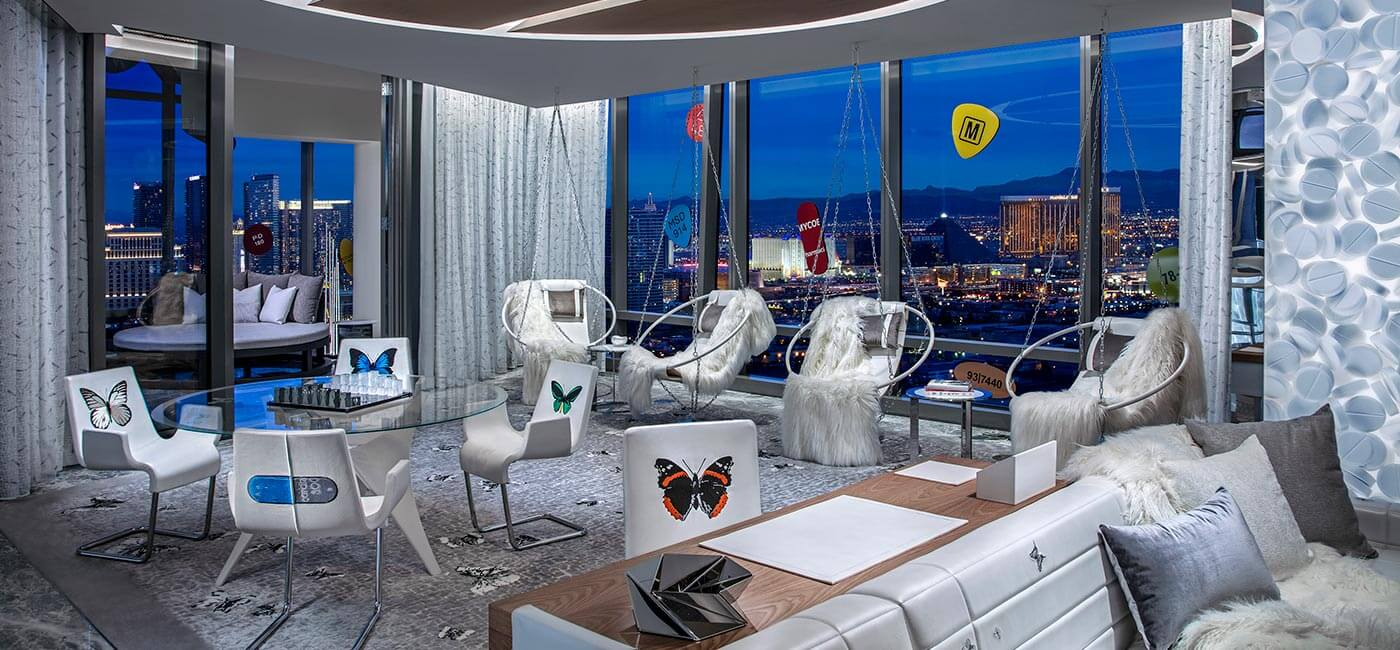 Living room, Palms Casino Resort