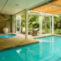 Pool facilities at Kauri Cliffs