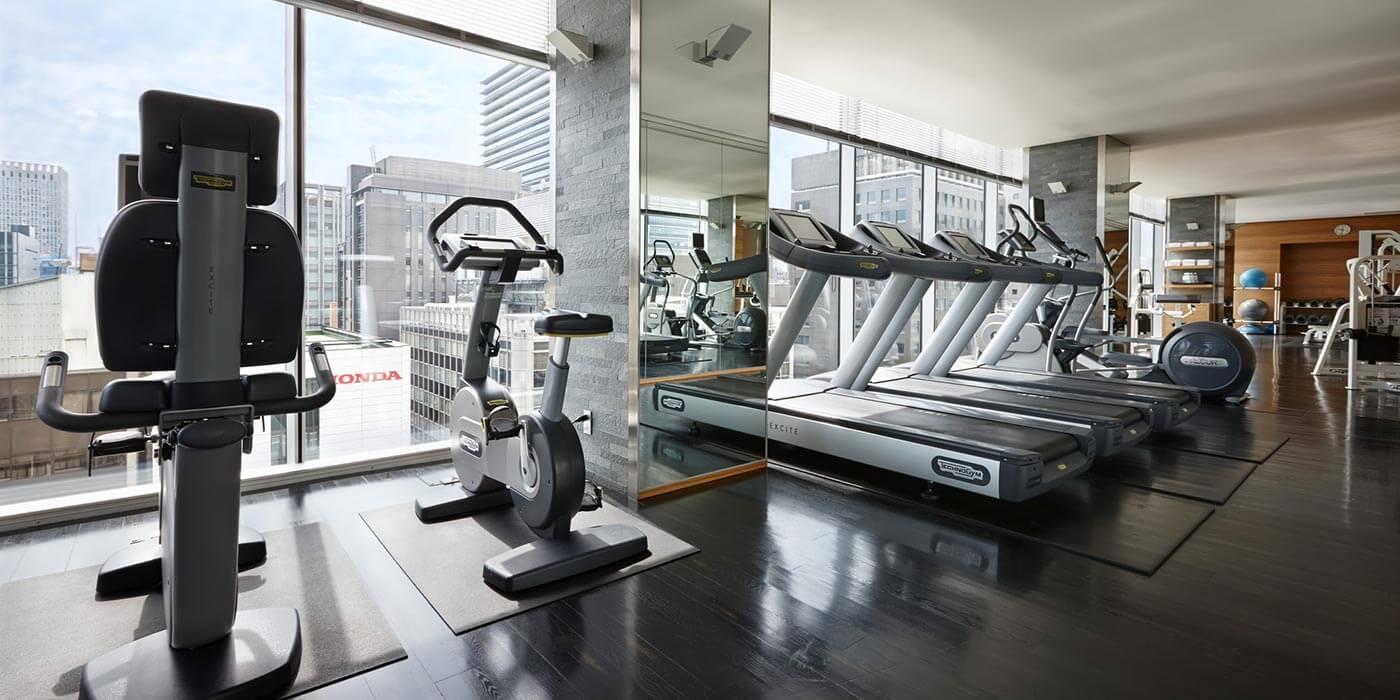 Gym at Four Seasons Hotel Tokyo at Marunouchi