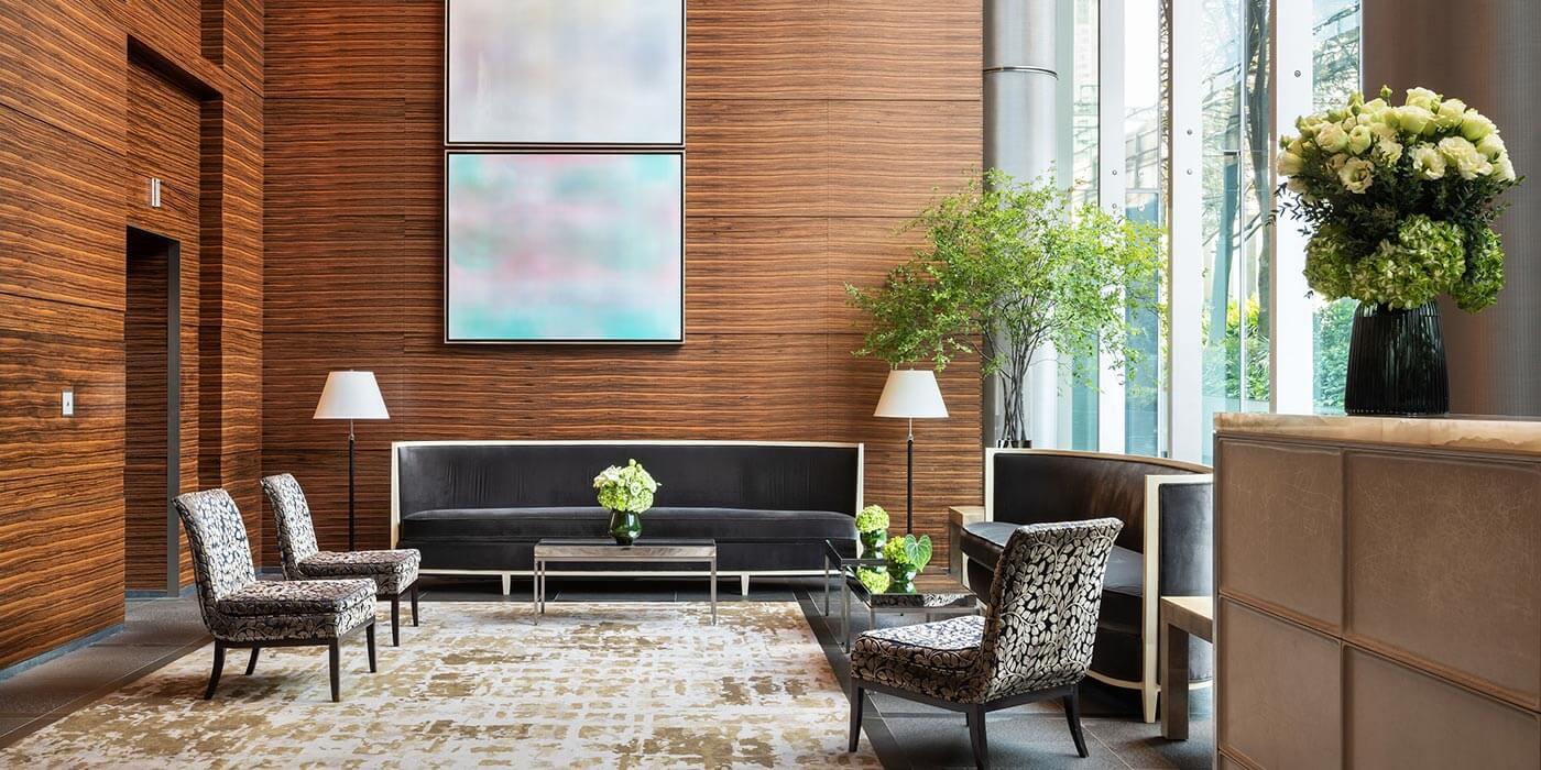 Lobby at Four Seasons Hotel Tokyo at Marunouchi