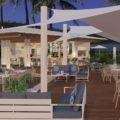 Outdoor setting at Aqua by Hayman Island by InterContinental