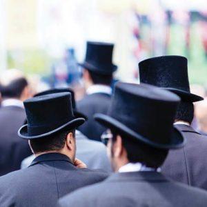 Top hats at the Royal Ascot