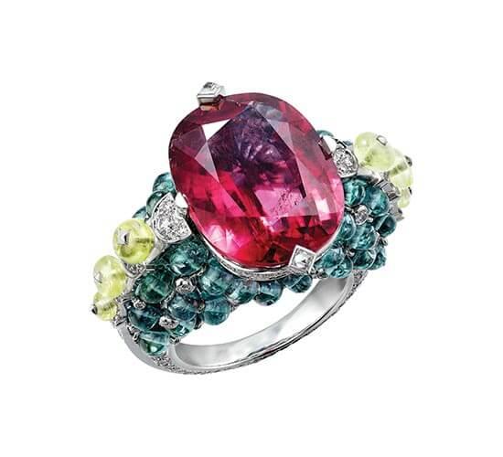 Holika ring with rubellite, POA