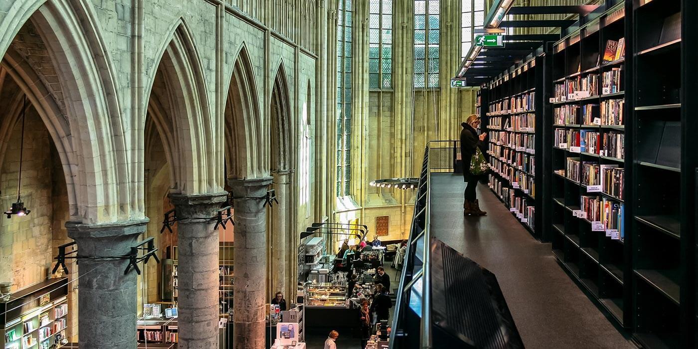 Boekhandel Dominicanen, beautiful bookshops