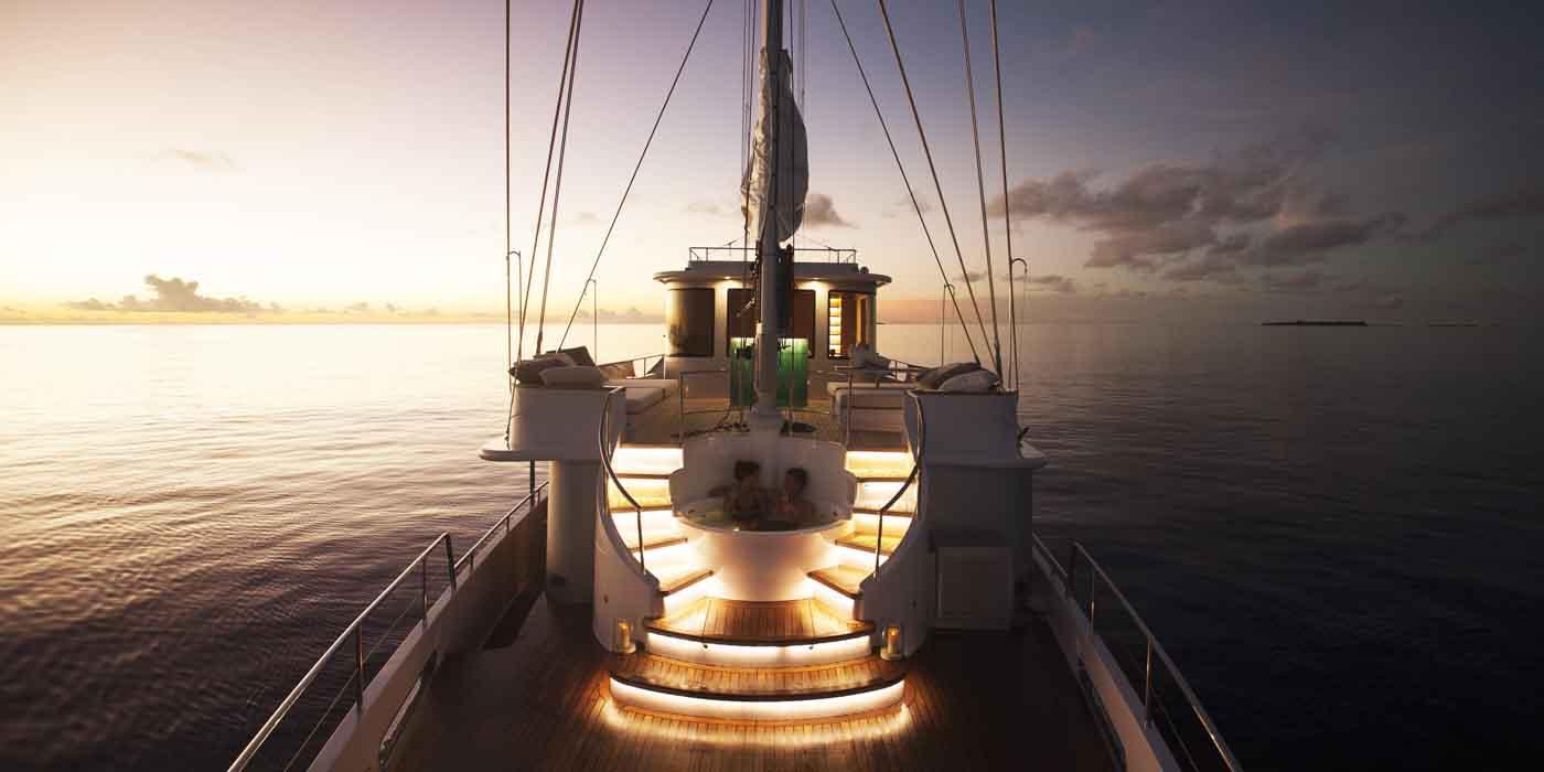Soneva Fushi, Soneva in Aqua, hotel yachts