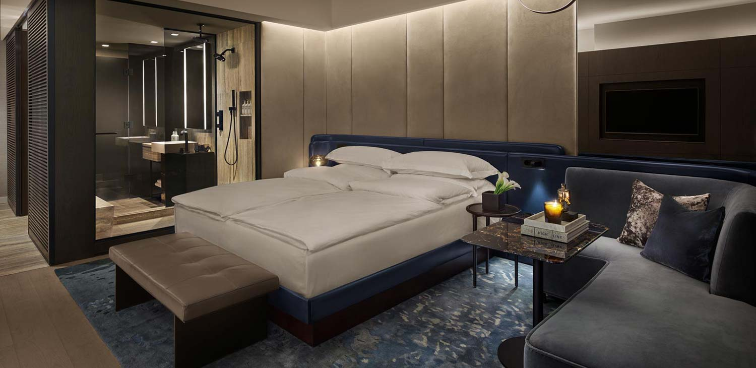 Bedroom at Equinox Hotel