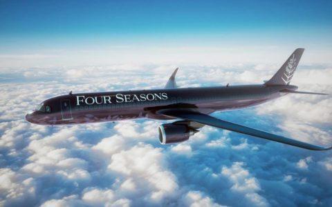 Four Seasons Private Jet