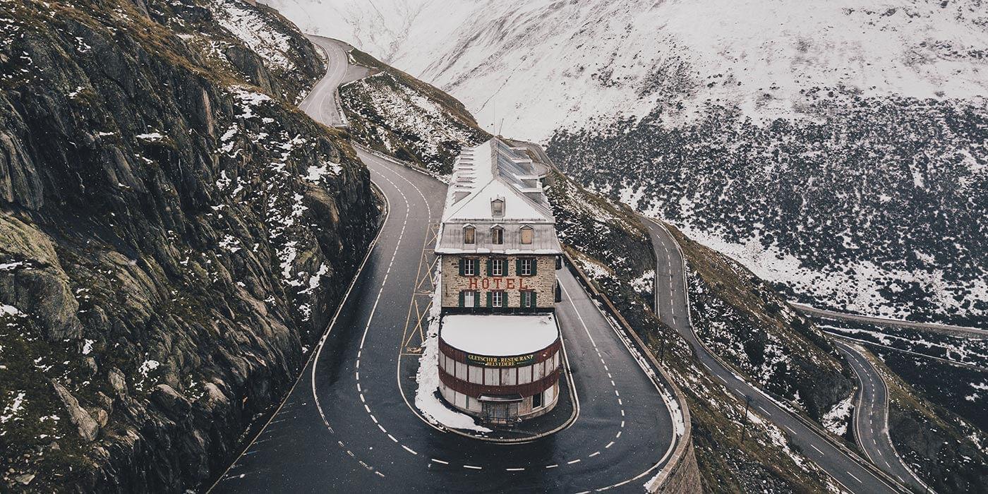 Furka Pass, Swiss Alps