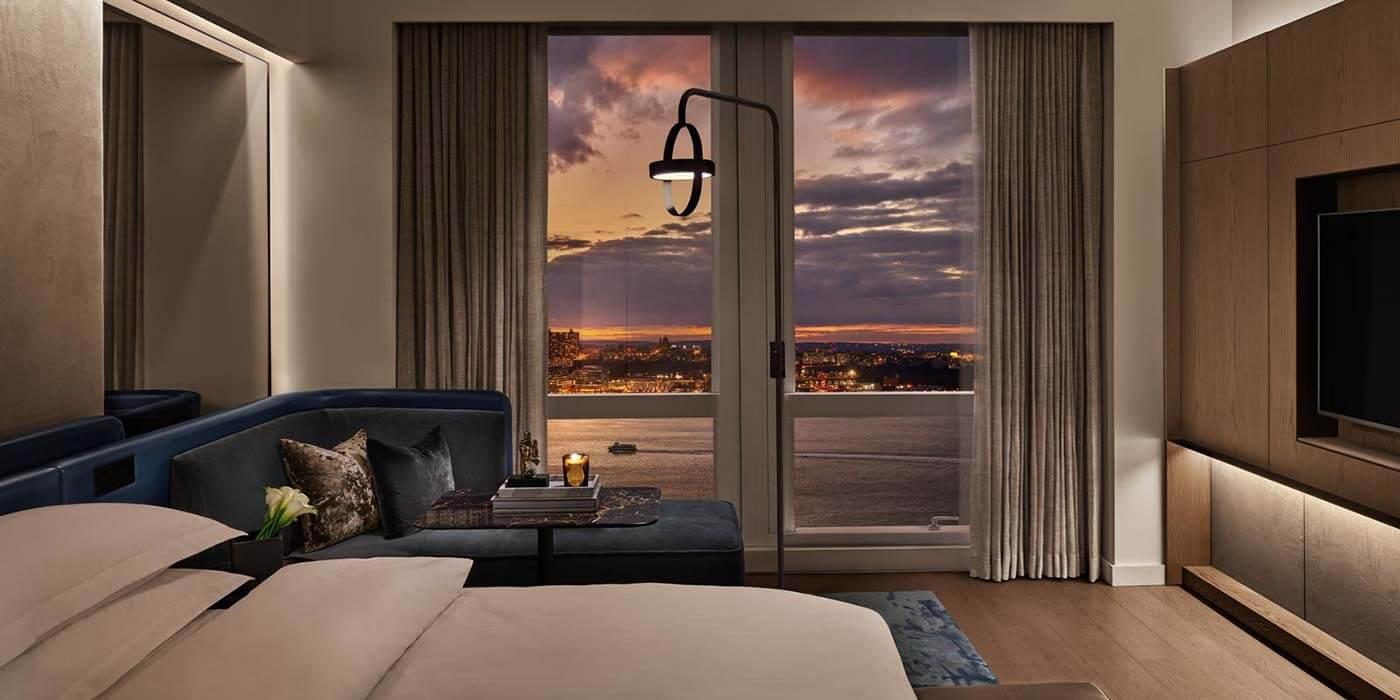 Hotel views at Equinox Hotel