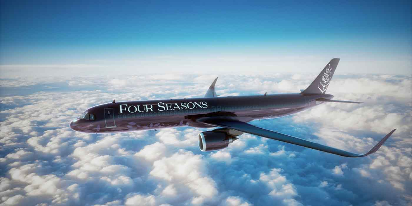 Four Seasons Private Jet Journey