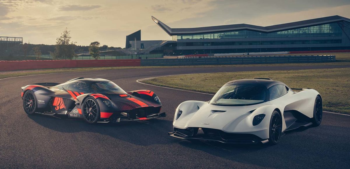 Aston Martin Valkyrie and Valhalla