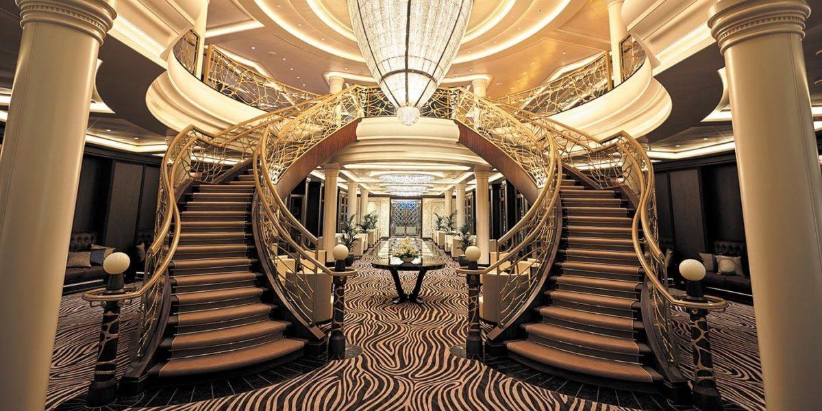 Atrium - Regent Seven Seas Cruises