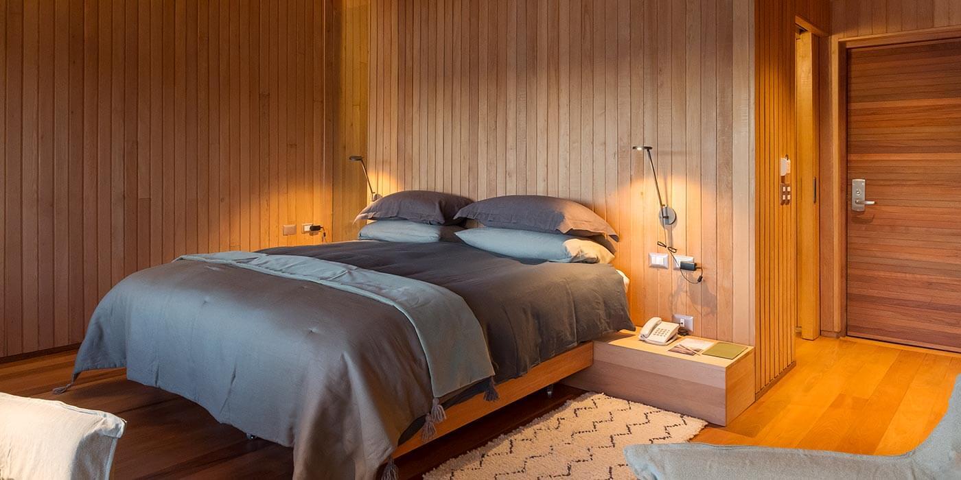 Bedroom at Tierra Chiloé