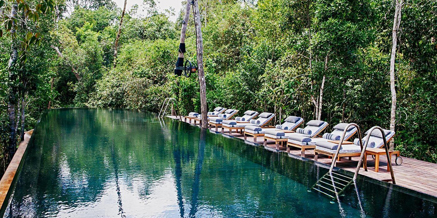 Bensley Collection Shinta Mani Wild Poolside