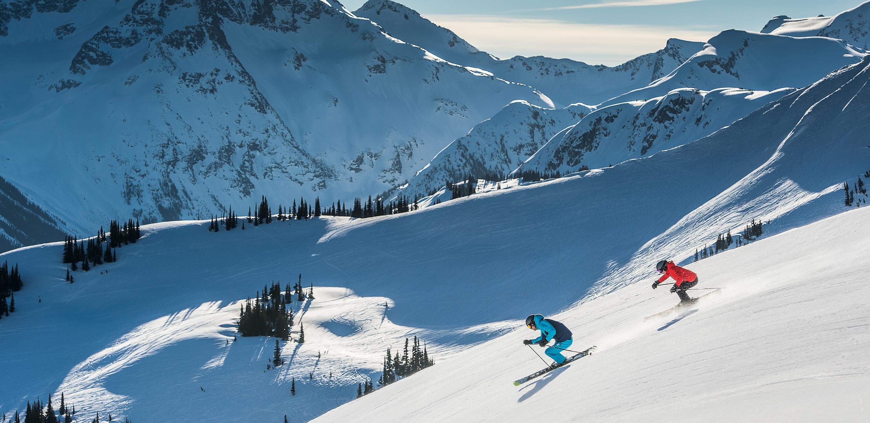Skiing in Whistler, Canada