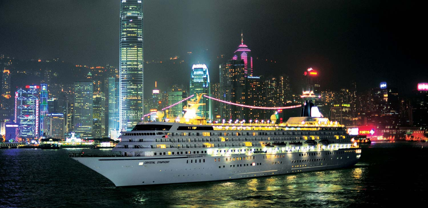 Crystal Symphony in Hong Kong