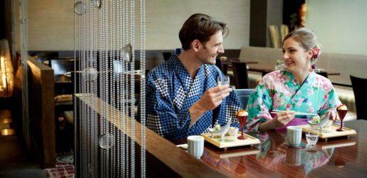 Casual kimono experience at Keio Plaza Hotel Tokyo