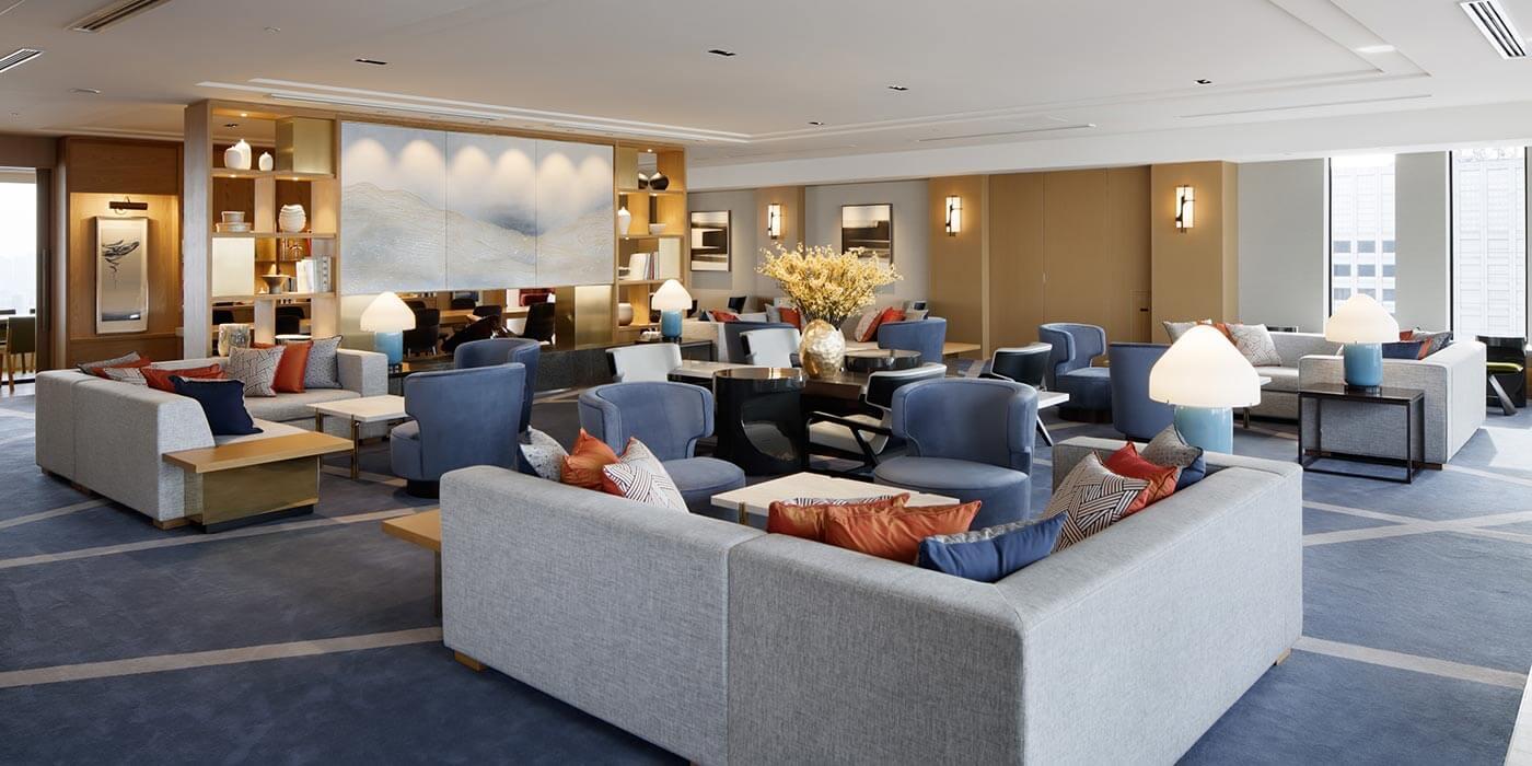 Club Lounge, Keio Plaza Hotel Tokyo