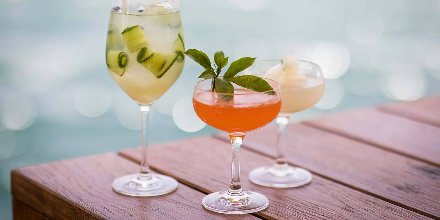 Cocktails at Granty Garden, Pier One Sydney Harbour