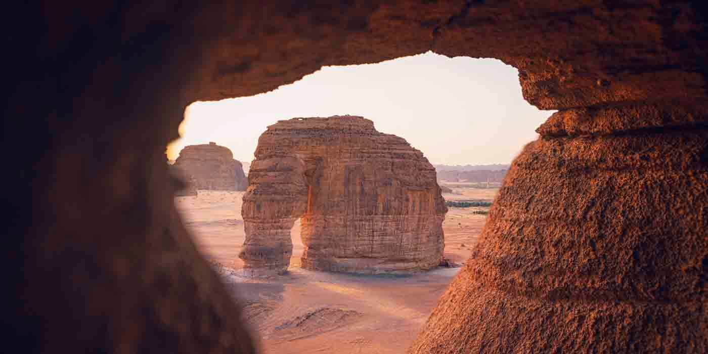 Elephant Rock, Saudi Arabia
