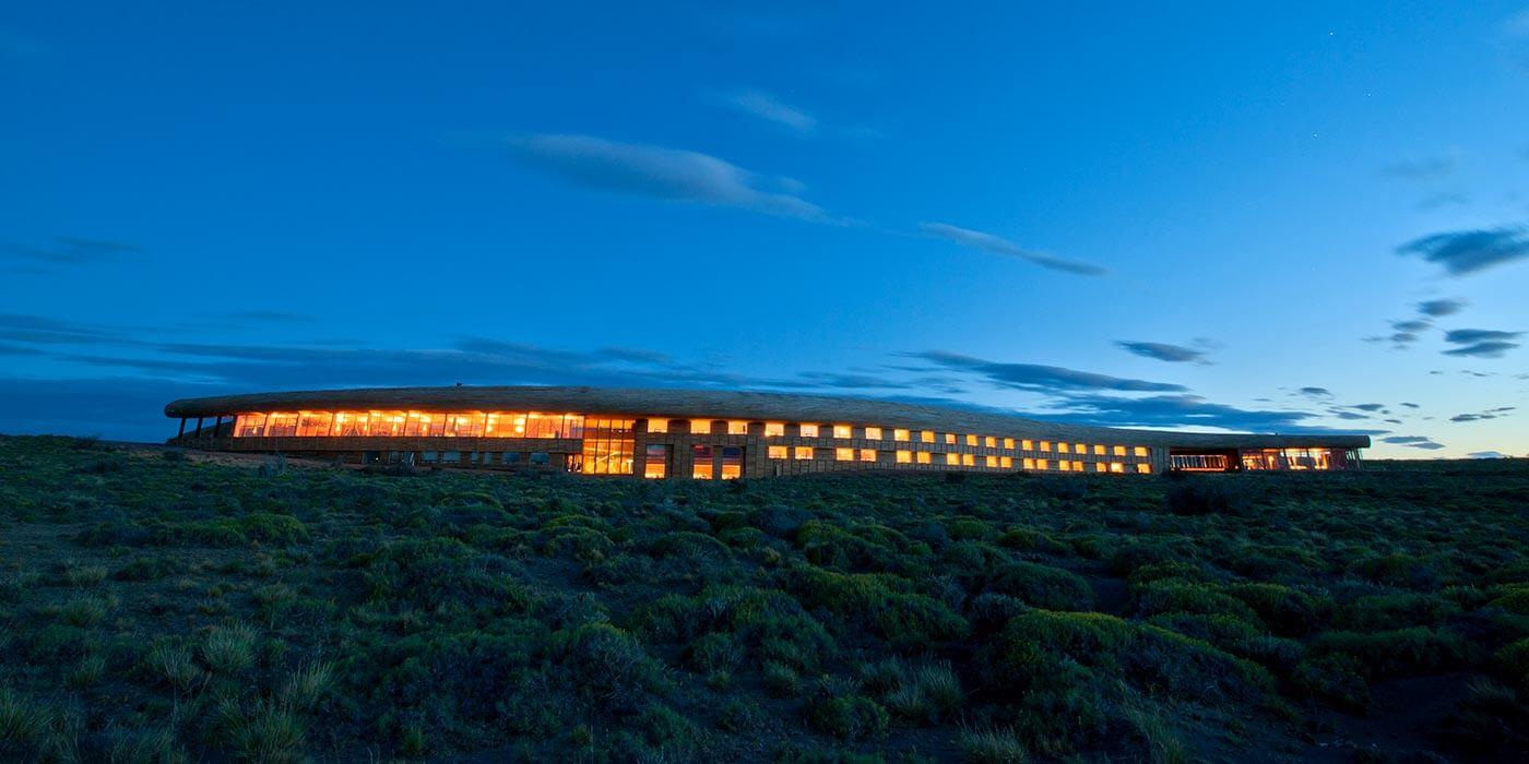 Exterior of Tierra Patagonia