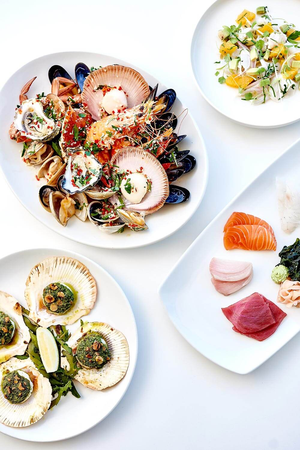 Food experience at Bannisters Port Stephens