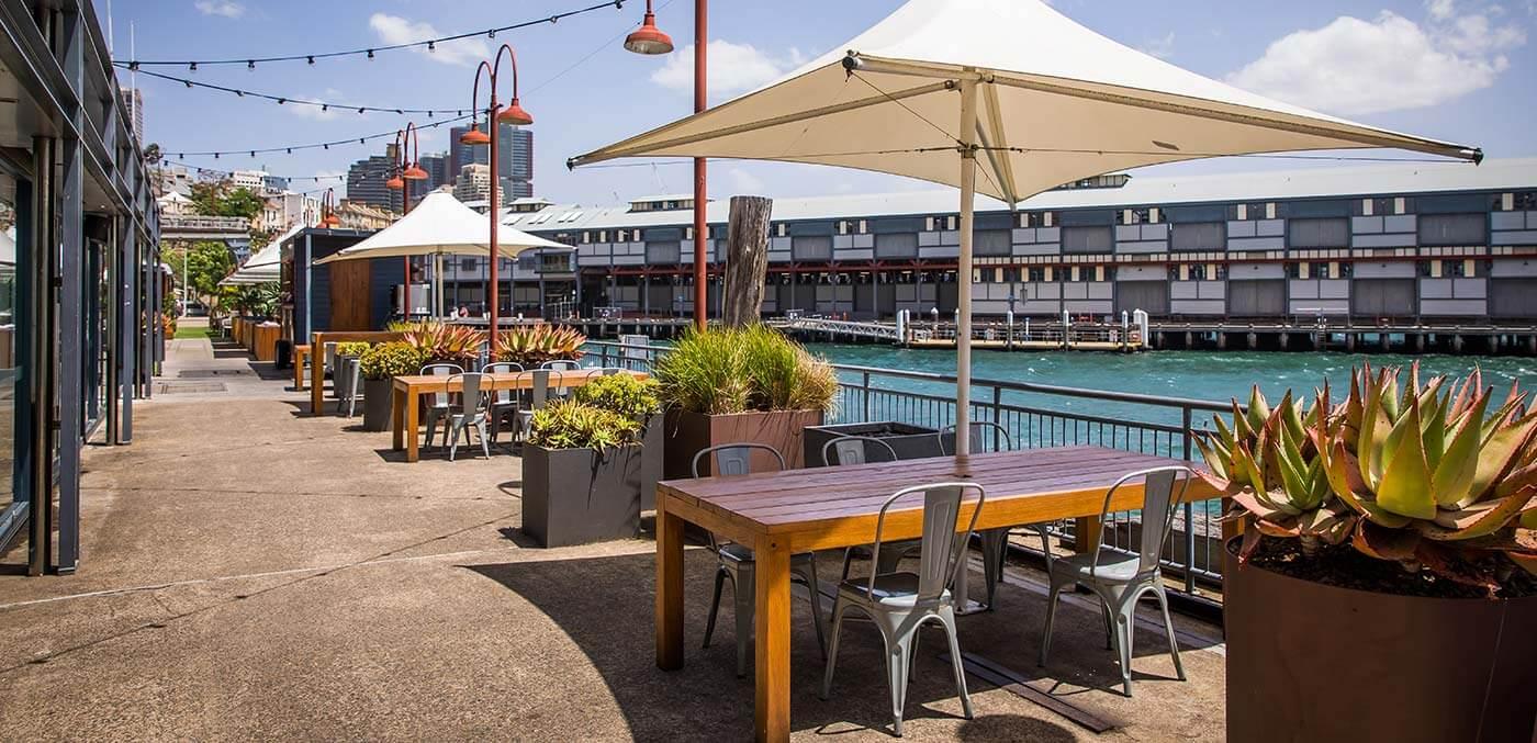 Gantry Garden at Pier One Sydney Harbour
