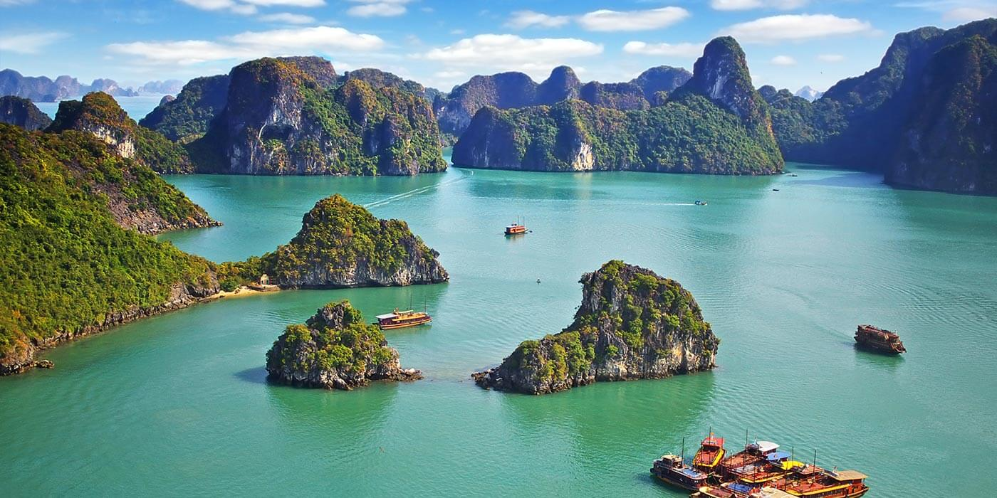 Halong Bay with Regent Seven Seas Cruises