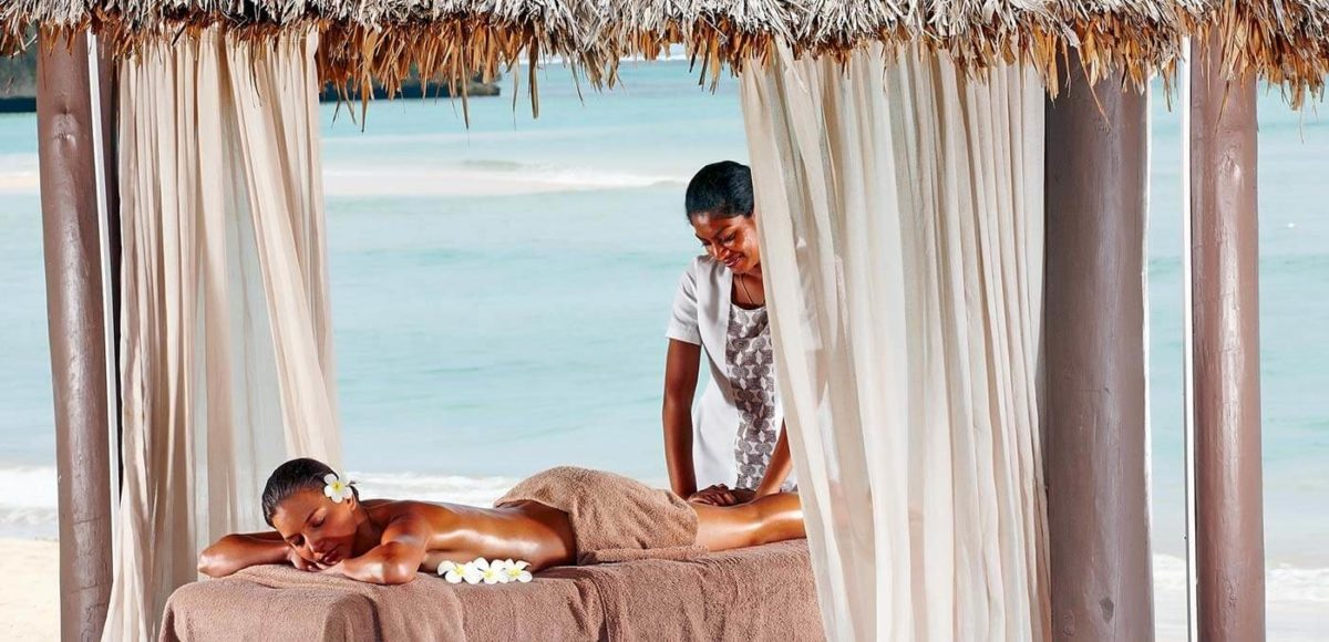 Intercontinental Fiji beach spa