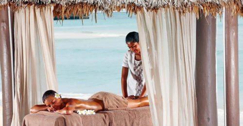 Intercontinental Fiji beach spa