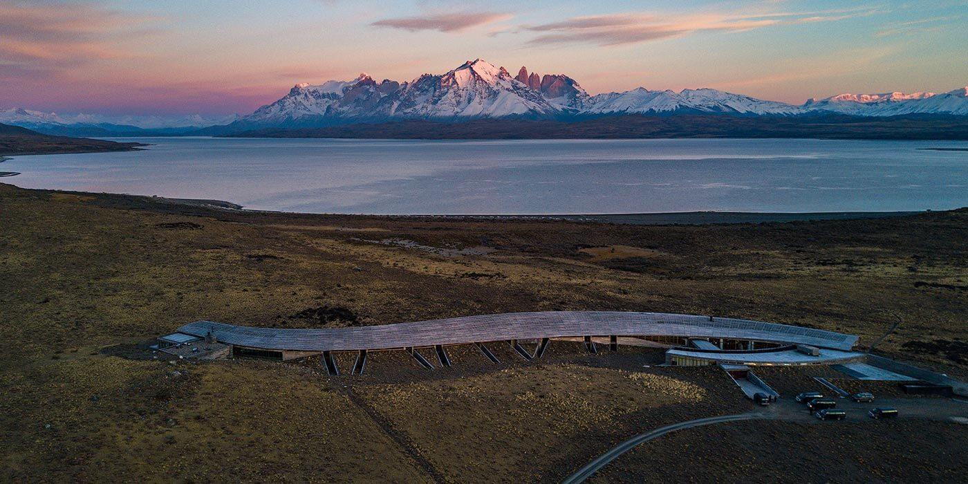 Mountains near Tierra Patagonia