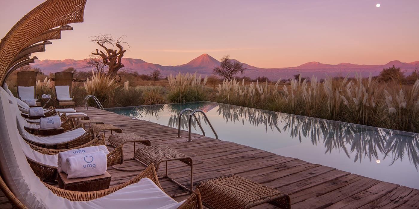 Pool at Tierra Atacama