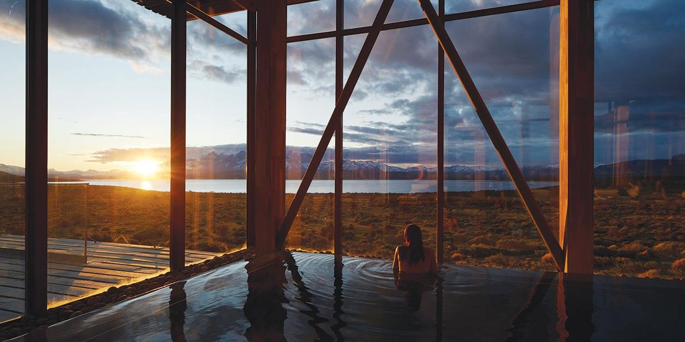 Pool at Tierra Patagonia