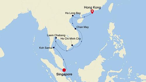 Singapore to Hong Kong