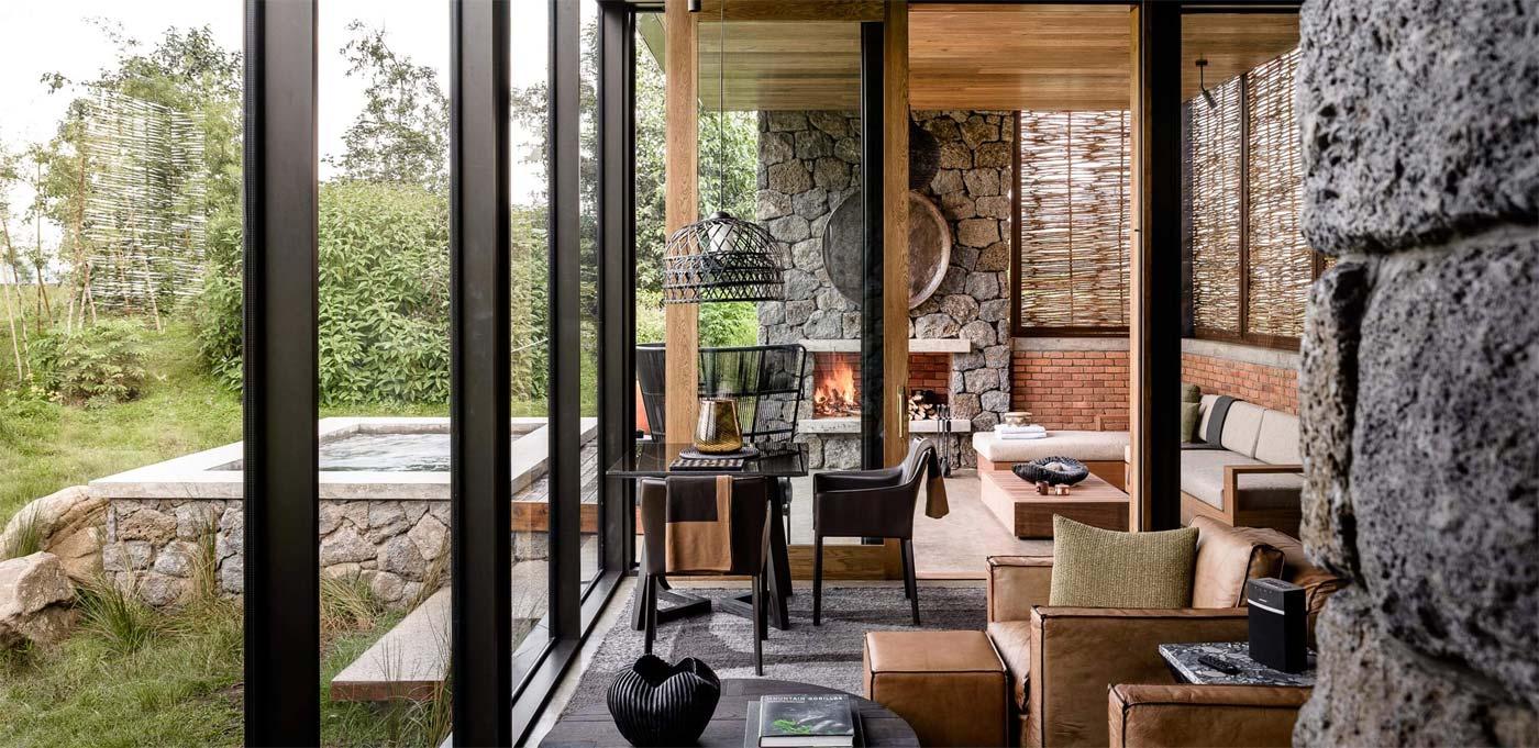 Singita Kwitonda Lodge Outdoor deck