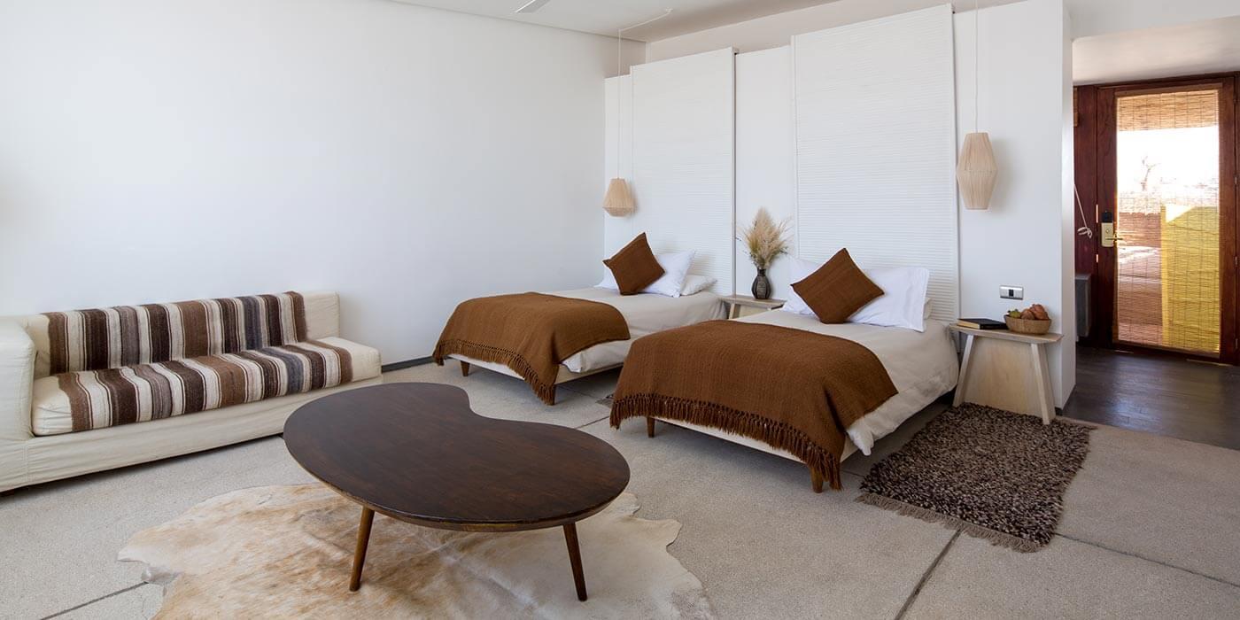 Single room at Tierra Atacama