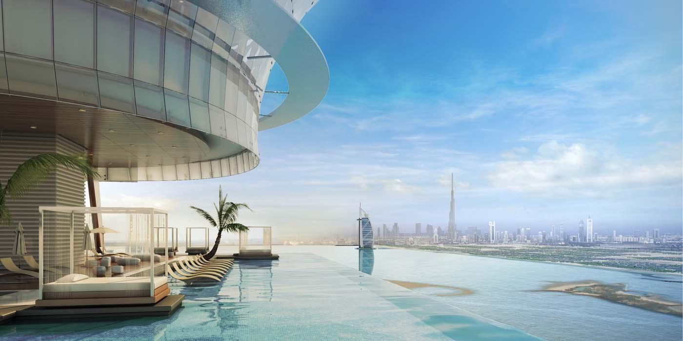 Palm Tower, Dubai, Palm Jumeirah