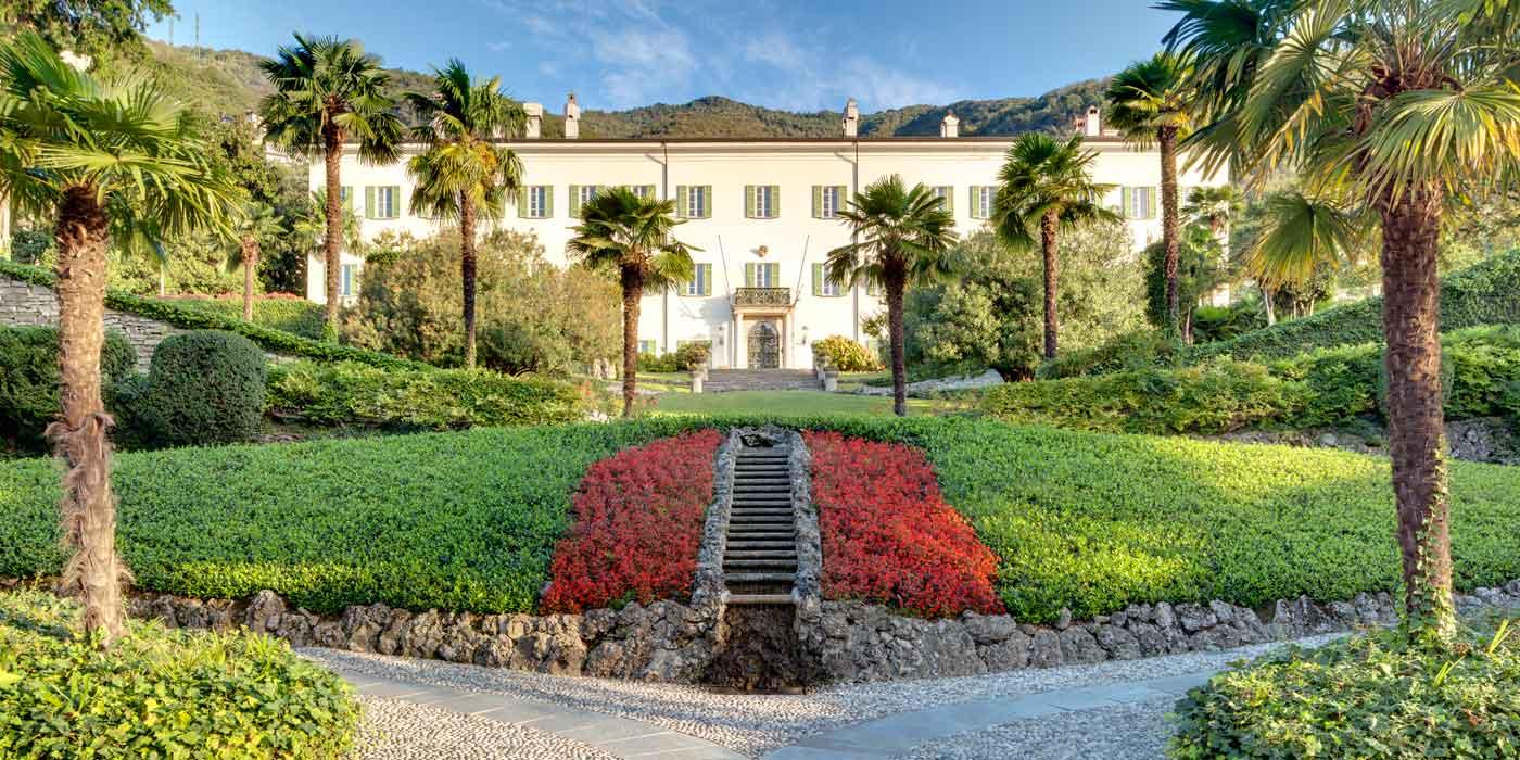 Villa Passalacqua, Grand Hotel Tremezzo, Lake Como