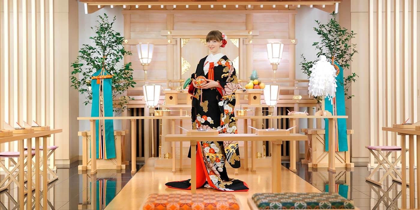 Wedding kimono experience at Keio Plaza Hotel Tokyo