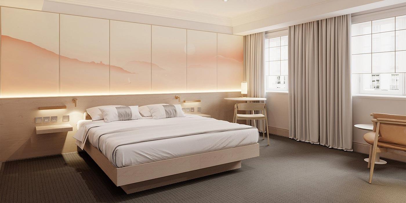 Bedroom Deluxe at The Prince Akatoki London