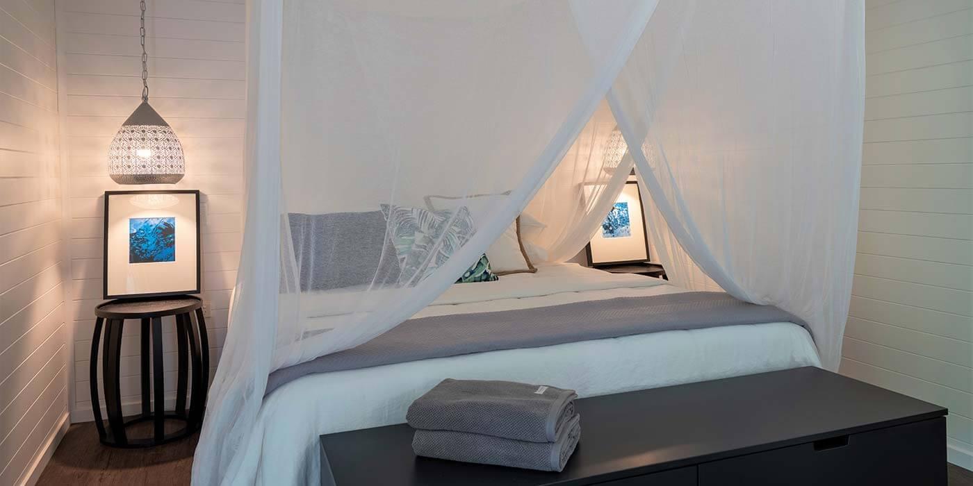 Bedroom at mist at Cape Tribulation