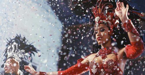 Brazillian carnival dancers