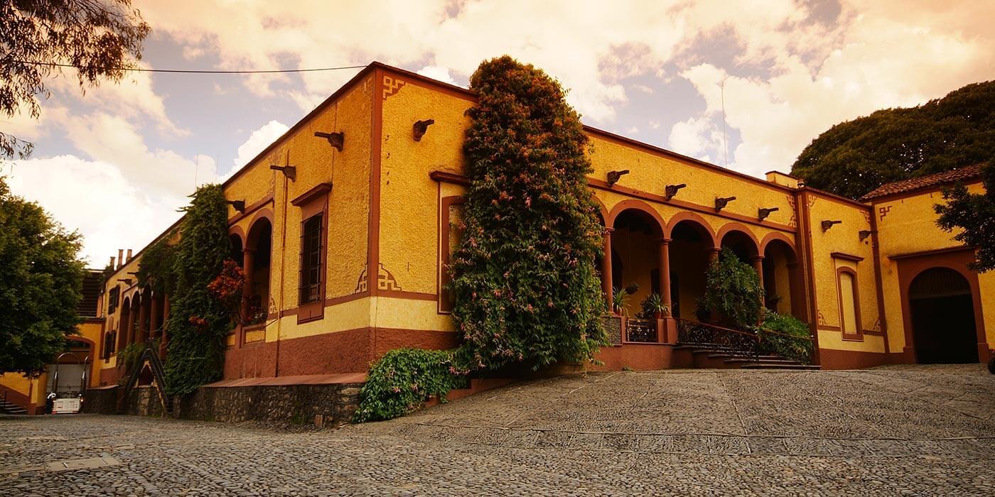 Exterior of Casa Herradura